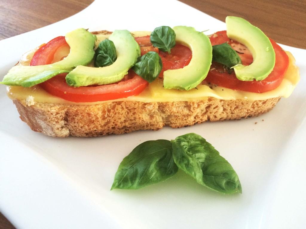 Broodje kaas tomaat