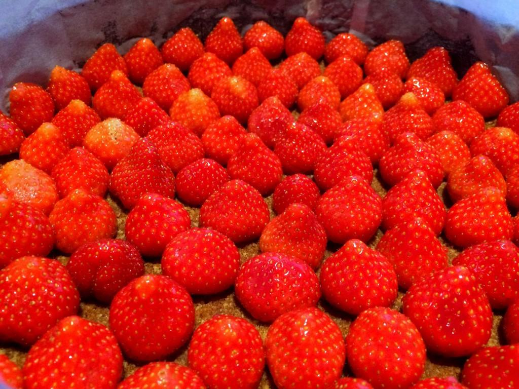 aardbeien in blik