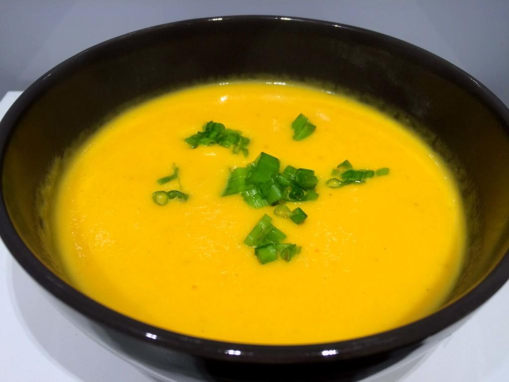 pompoem wortelsoep