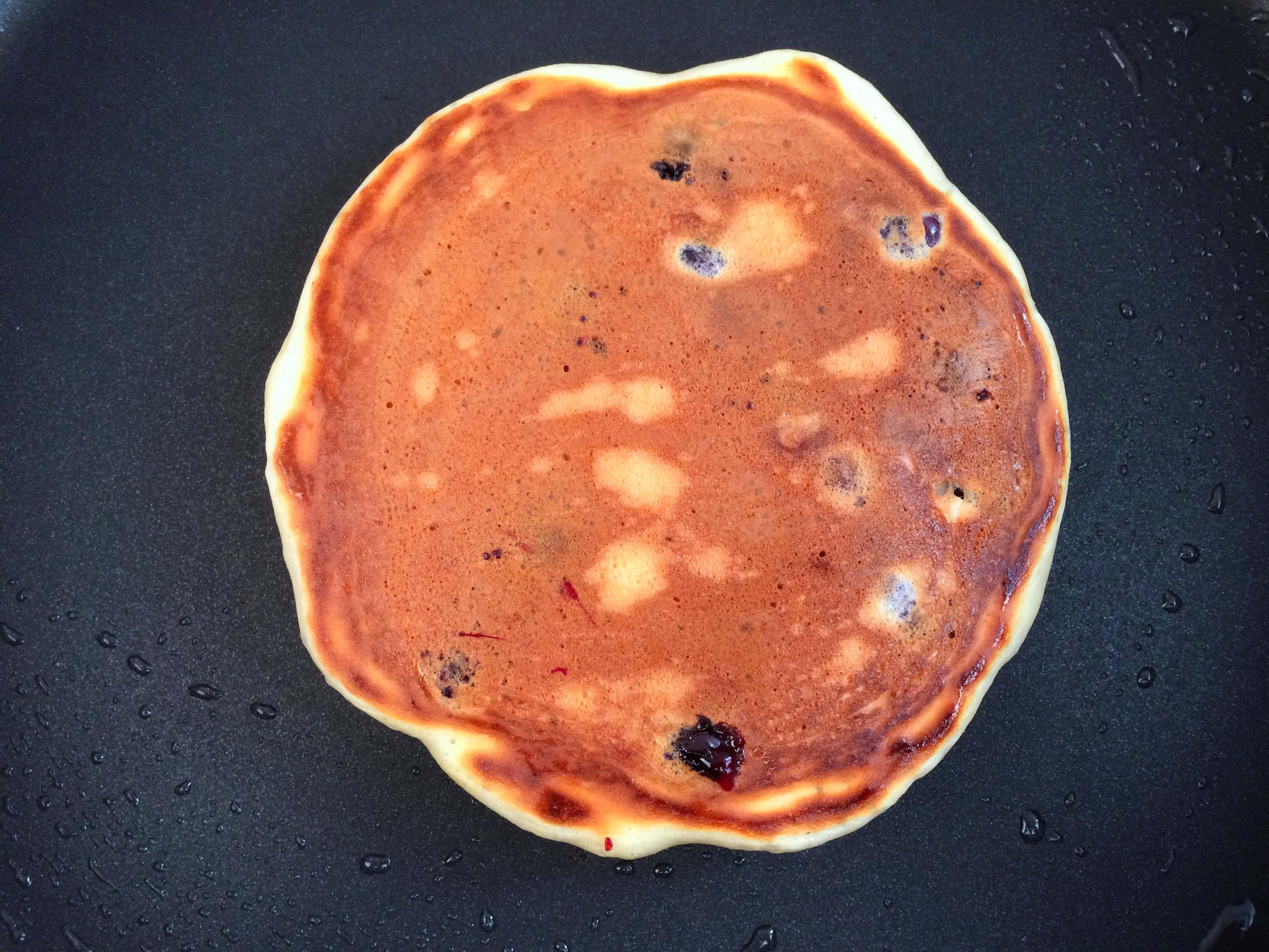 pancake gebakken