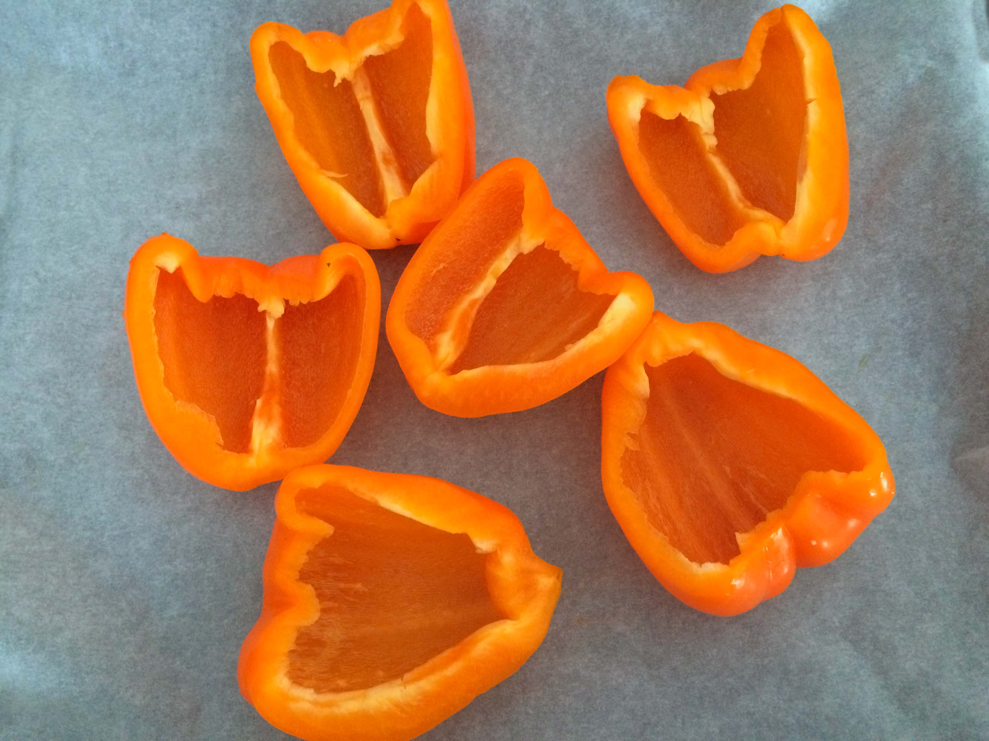 paprika gesneden